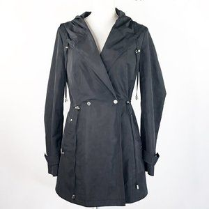 French Connection Modern Trench Rain Jacket